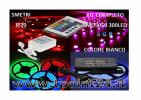 KIT COMPLETO STRISCIA LED 5METRI STRIP RGB SMD5050 300LED MULTICOLOR DA INTERNO